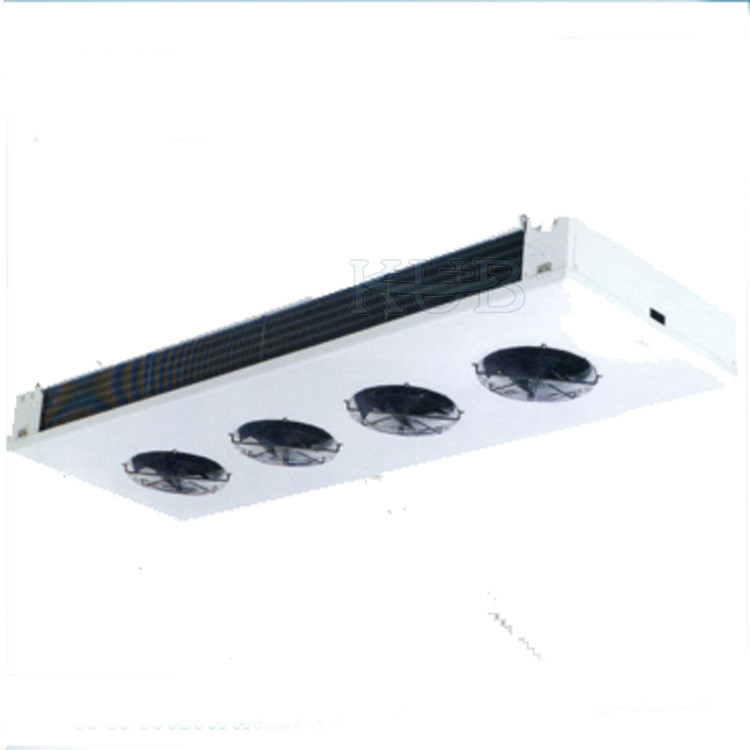 8HP Cold Storage Cool Room Evaporators Ceiling Mounting Air Cooled White Color Ginning Aluminum Sheet
